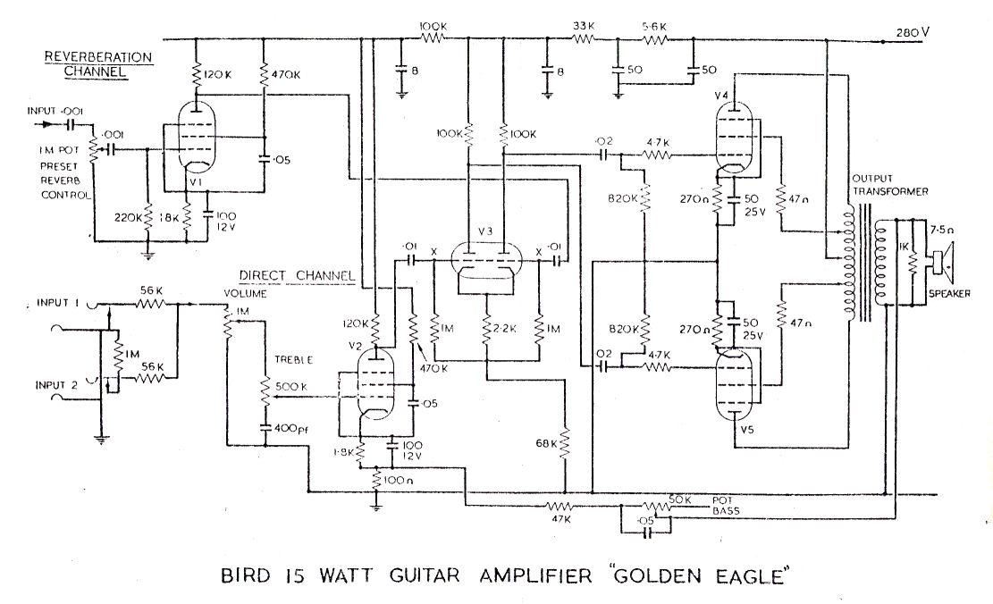 Prowess Amplifiers Misc Schematics Bird15goldeneagle1 Bird
